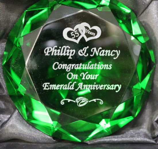 Engraved Paperweights